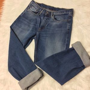 Vintage Levi's 514 Red Tab Distressed Size 31
